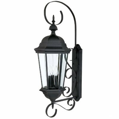 Capital Lighting Carriage House 3 Light Outdoor Wall Lantern