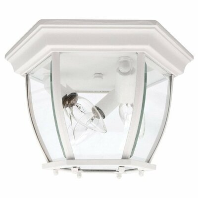 Capital Lighting 3 Light Outdoor Flush Mount