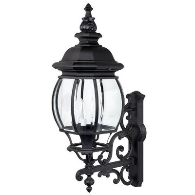 Capital Lighting French Country 4 Light Outdoor Wall Lantern