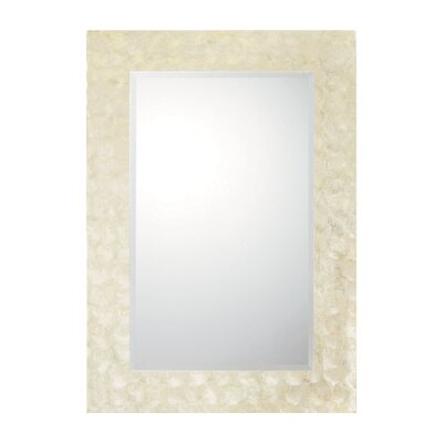 "Capital Lighting 39.9"" Shell Mirror"