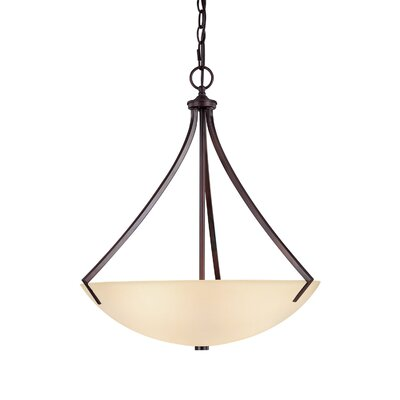 Stanton 3 Light Inverted Pendant