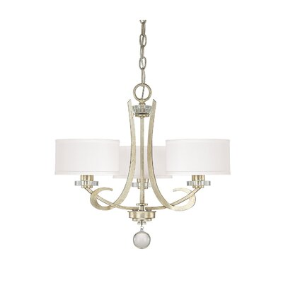 Hutton 3 Light Chandelier