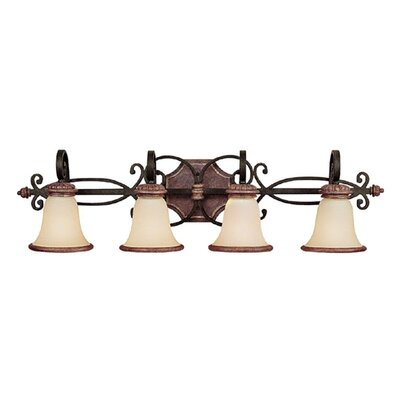 Capital Lighting Foxborough 4 Light Bath Vanity Light