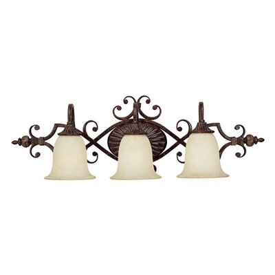 Capital Lighting Manchester 3 Light Bath Vanity Light