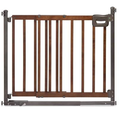 Summer Infant Step To Secure Wood Walk-Thru Gate