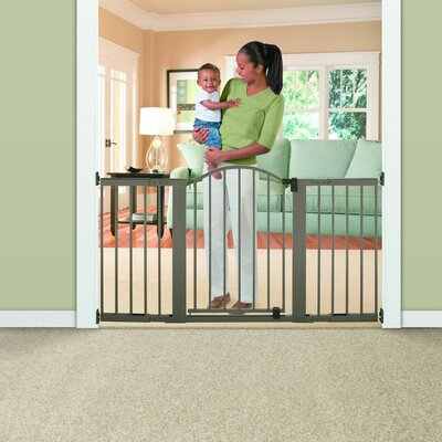 Summer Infant Stylish and Secure Extra Tall Metal Expansion Gate