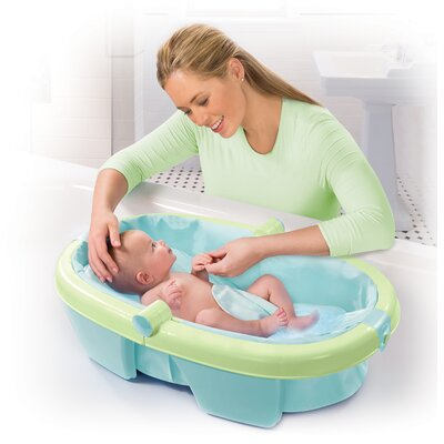 Summer Infant Newborn-to-toddler Fold Away Bath Tub