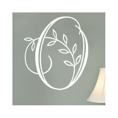 Vine Monogram Wall Decal