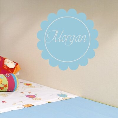 Alphabet Garden Designs Morgan's Monogram Wall Decal
