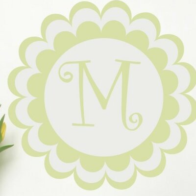 Bloomster Monogram Wall Decal