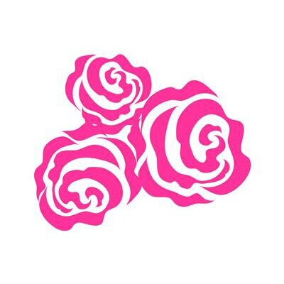 Bella Rose Vinyl Wall Decal