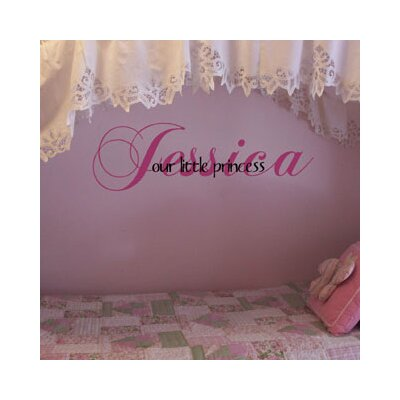 Our Little Princess / Prince Wall Decal