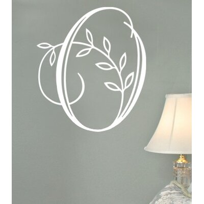 Alphabet Garden Designs Vine Monogram Wall Decal