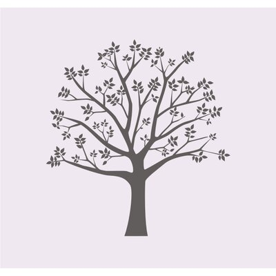 Alphabet Garden Designs Blossoming Tree II Vinyl Wall Decal