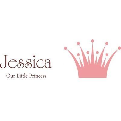 Alphabet Garden Designs Our Little Princess Wall Decal