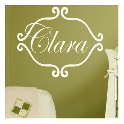 Alphabet Garden Designs Princess Clara Wall Decal