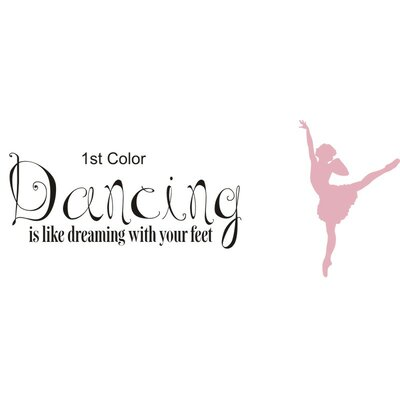 Alphabet Garden Designs Dancing is Dreaming Wall Decal