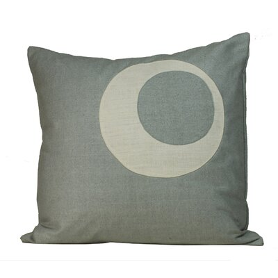 Jiti Half Moon Matka Silk Decorative Pillow