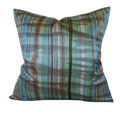 Jiti Stripes Square Polyester Decorative Pillow