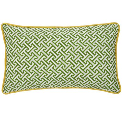 Maze Cotton Decorative Pillow