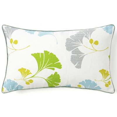 Jiti Pillows Gingko Cotton Pillow in Marine