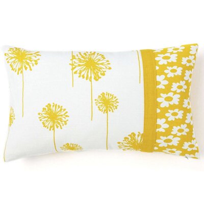 Jiti Pillows Dandelion / Daisy Cotton Indoor Pillow