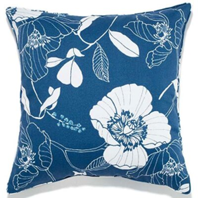 Jiti Poppy Polyester Outdoor Decorative Pillow