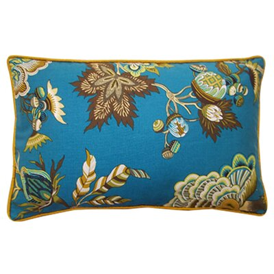 "Jiti Pillows Jazmine 12"" x 20"" Pillow in Jade"