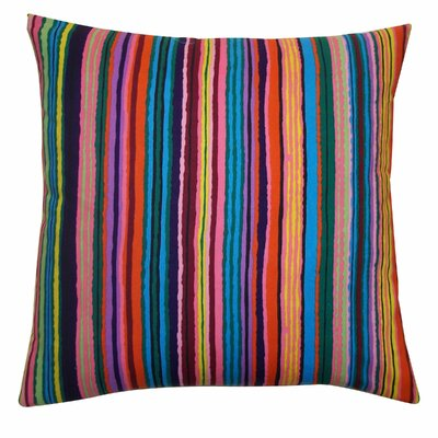 Jiti Strokes Cotton Pillow