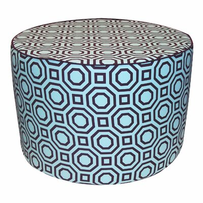 Jiti Labyrinth Pouf Cotton Ottoman