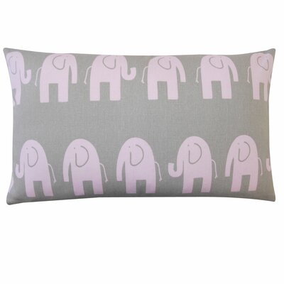Jiti Elephant Cotton Pillow