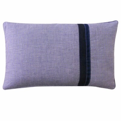 Kids Gingham Polyester Pillow