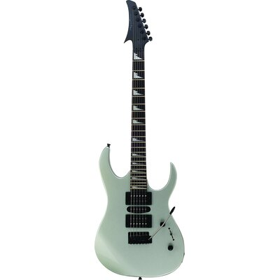 Electric Guitar in Silver Shark