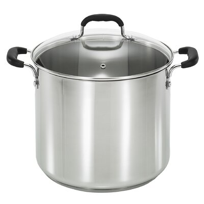 T-fal 12-qt Stock Pot with Lid