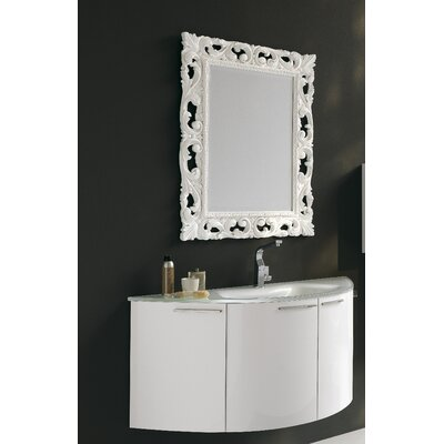 "Acquaviva Archeda V 47.5"" Curved Bathroom Vanity Set"