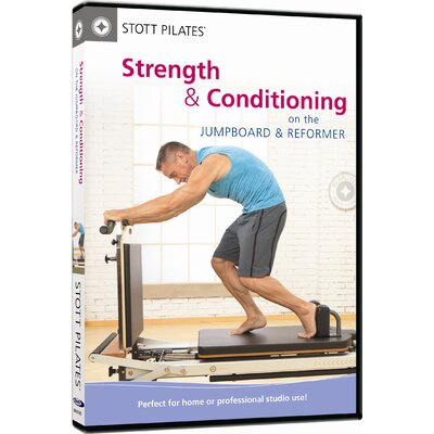 STOTT PILATES Strength and Conditioning on the Jumpboard and Reformer DVD