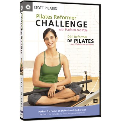 STOTT PILATES Pilates Reformer Challenge with Platform and Pole DVD