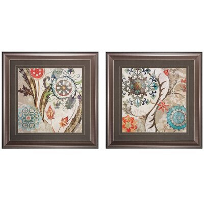 Royal 2 Piece Framed Graphic Art Set