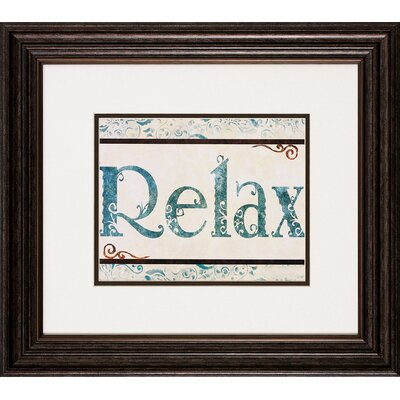 Propac Images Bath / Relax Framed Art (Set of 2)
