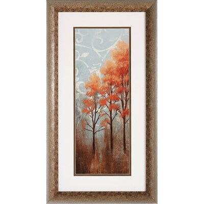 Propac Images Red Trees I / II Framed Art (Set of 2)