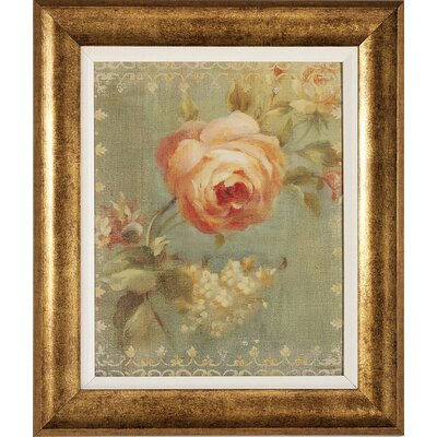 Propac Images Rose / Poppy Framed Art (Set of 2)