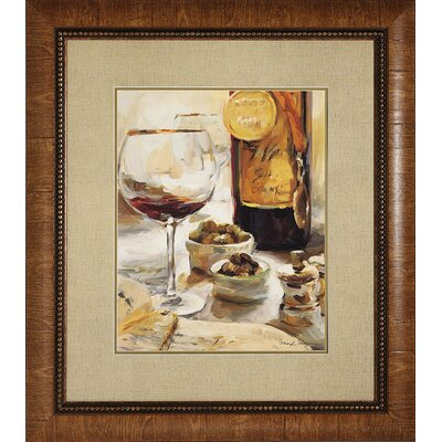 Propac Images Wine I Framed Art