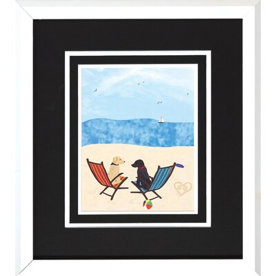 Propac Images Beach Dogs I/II Wall Art