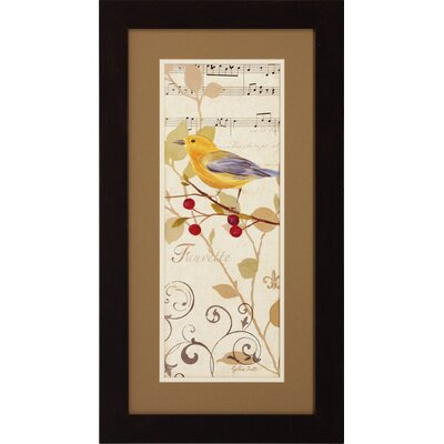 Propac Images Perch On Note I / II Wall Art (Set of 2)