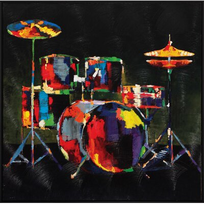 Propac Images Drum Set Wall Art