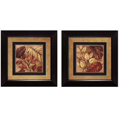 "Propac Images Indian Summer I and II Print Set - 24"" x 24"" (Set of 2)"