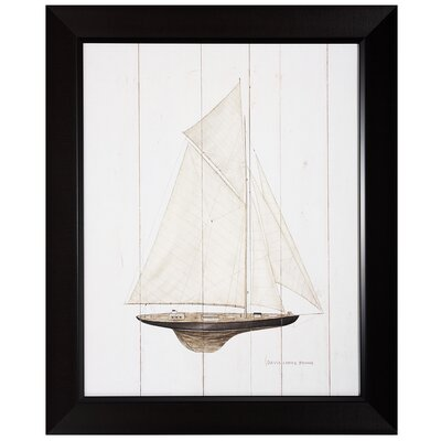 "Propac Images Sailboat I Print- 27"" x 33"""