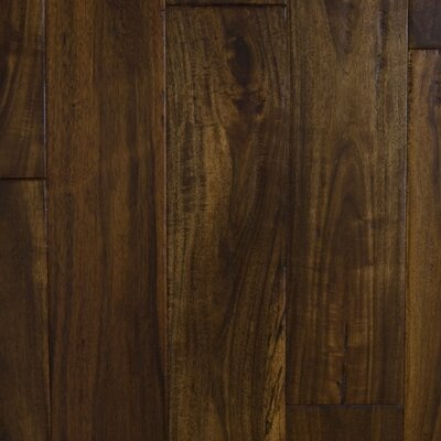 "Aurora Hardwood Hand-Sculpted 4-3/4"" Engineered Acacia in Sundown"