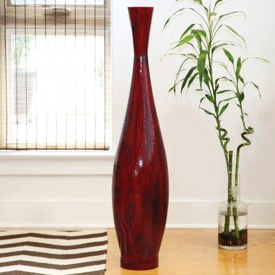 Polivaz Red Bamboo Floor Vase Amp Reviews Wayfair
