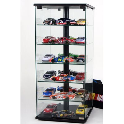 Tier One Designs Glass and Aluminum Display Case with Swivel